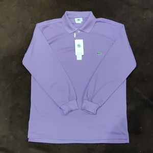 Long Sleeve Lacoste Polo